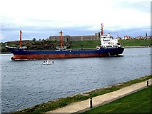 NZ3668 : Turkey-flag cargo vessel, mv Safran.1 by Stanley Howe
