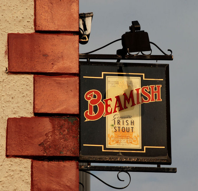 """Beamish"" sign, Belfast"