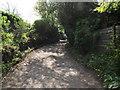 SD7411 : Pitfield Lane in Harwood by Philip Platt