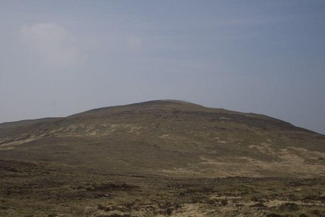 Beinn Bhàn's eastern top, Islay