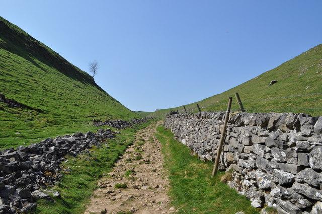 Path up Limestone Way