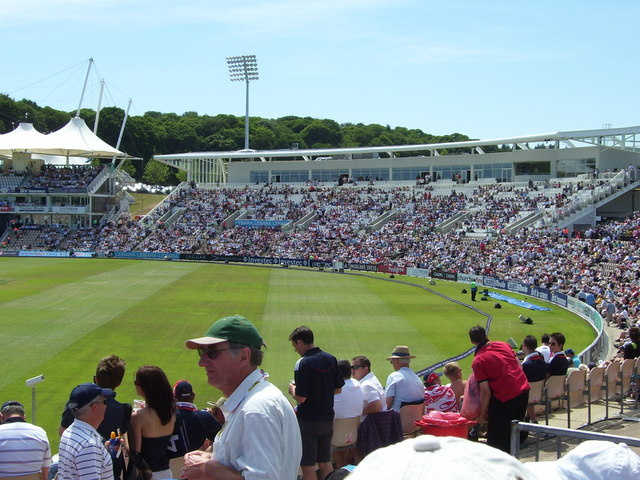 West Stand Of The Rose Bowl C Cricket Snapper Cc By Sa 2 0