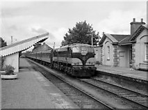 N1838 : Passenger train at Moate station by The Carlisle Kid