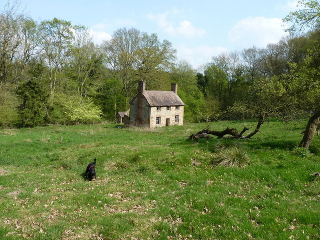 The abandoned farmhouse at Darley