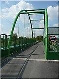 SE2320 : The Calder Valley Greenway crosses Huddersfield Road, Dewsbury by Humphrey Bolton