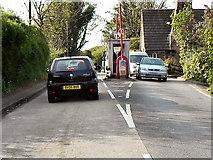SJ6989 : Warburton Toll Gate by David Dixon
