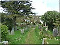 SV9110 : St Mary's Old Town churchyard by Oliver Dixon