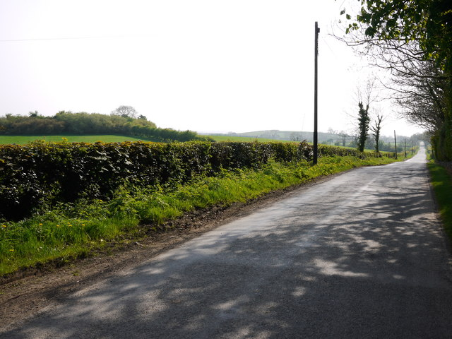 The Burn Road near Comber