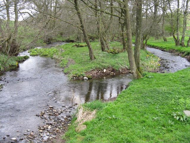 The River Petteril at Little Blencow