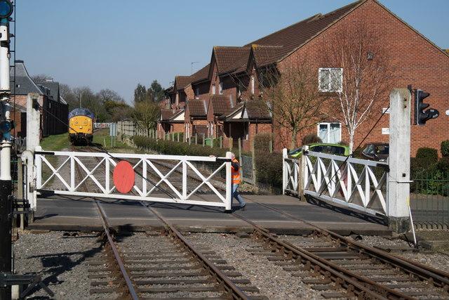Norwich Road level crossing, Dereham