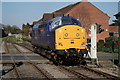 TF9913 : Locomotive at Norwich Road level crossing, Dereham by Glen Denny