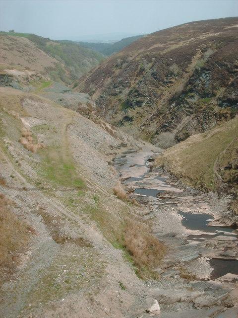 Rhaeadr y Bedd Gorge