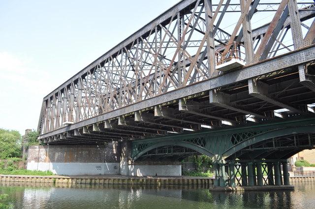 Railway Bridge over the Nene