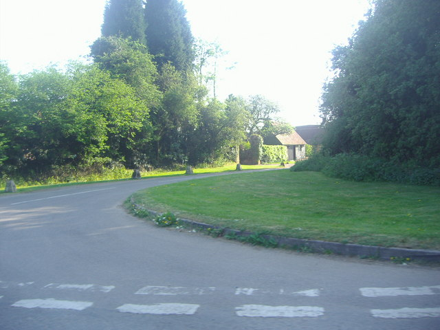 Junction of Ashridge Lane and unnamed road