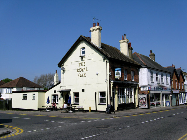 Caterham:  The 'Royal Oak'
