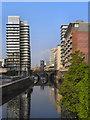 SJ8398 : River Irwell, Chapel Wharf by David Dixon