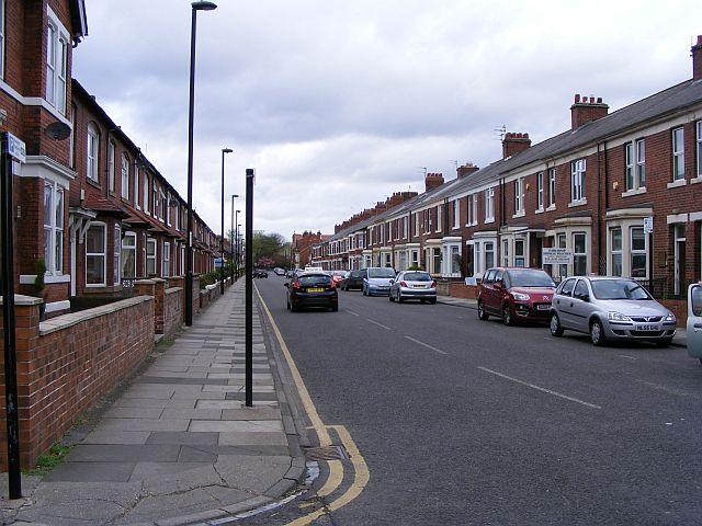 Park Road North, Wallsend