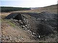 SN8393 : Cyfartha lead mine - shaft and engine house by Rudi Winter