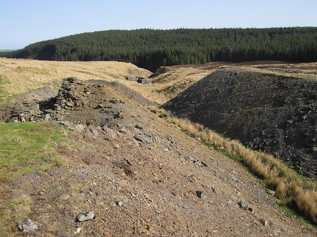 Cyfartha lead mine