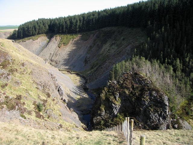 Clywedog gorge