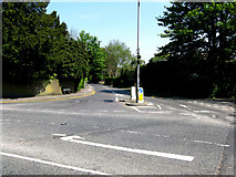 TQ3355 : Caterham:  Whyteleafe Road by Dr Neil Clifton
