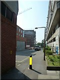 SU4112 : Lamppost in Wyndham Place by Basher Eyre