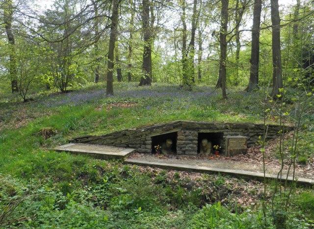 Huskar Pit  disaster monument