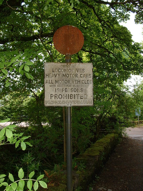 Old Pre-Worboys Road Sign