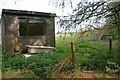 SE6547 : Portakabin and bath, Elvington Airfield by Mick Garratt