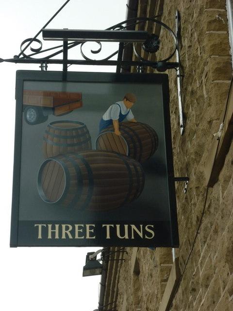 The Three Tuns, a Sam Smith's pub in Birtley