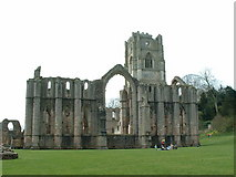 SE2768 : Fountains Abbey by Keith Evans