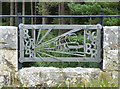 NY6392 : Detail of Kielder Viaduct near Kielder by Stephen Richards