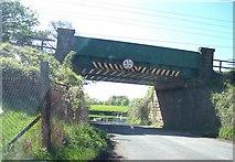 SD4953 : The West Coast Main Line Railway crosses Hollins  Lane by Raymond Knapman