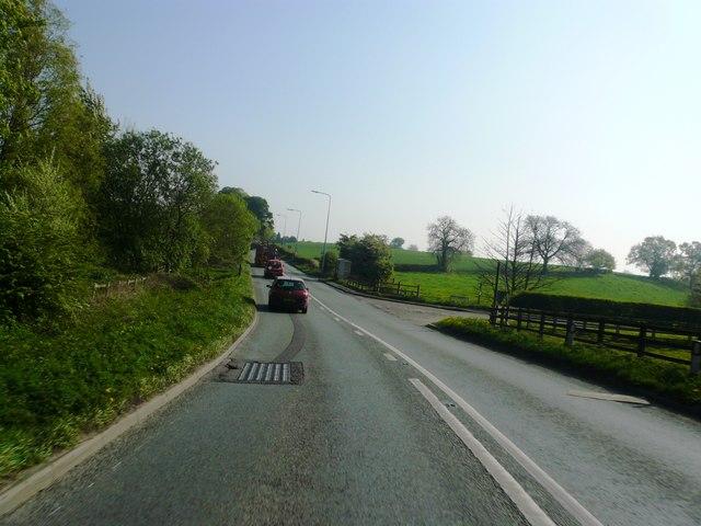 A533 at Arclid Green
