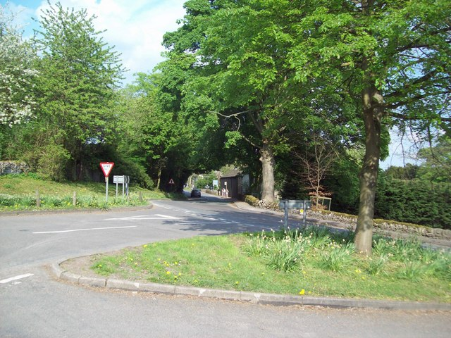 Road Junction in Hassop