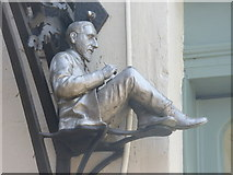 TQ1649 : Charles Allen Figure by Colin Smith