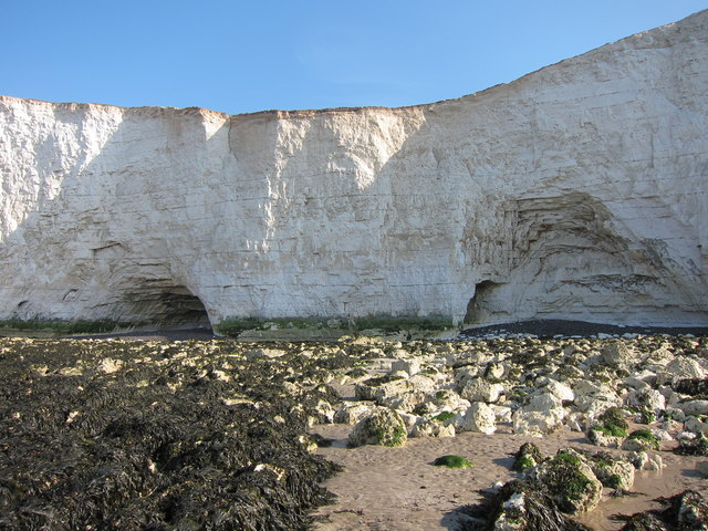Caves in the Seven Sisters