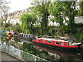 TQ3183 : Boats on the Regents Canal by Stephen Craven