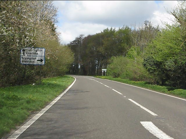 A44 at the B4027 junction