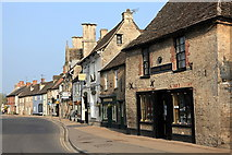 SU2199 : High Street, Lechlade by Rob Noble