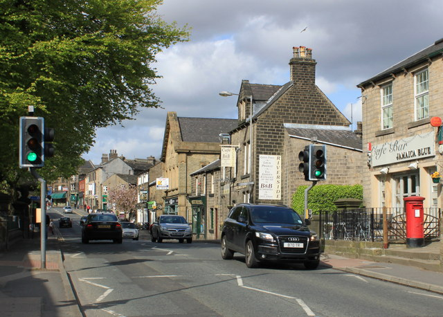 High Street, Uppermill