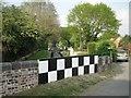SP1765 : Chequerboard bridge parapets: 1 by Robin Stott