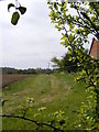 TM2966 : Footpath to Dennington Village Hall & A1120 The Street by Adrian Cable