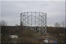 TQ2696 : The Gasometer, New Barnet by N Chadwick