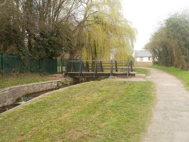 Canal bridge, Pontnewydd, Cwmbran