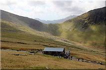 SH5956 : Halfway House, Snowdonia by Christine Matthews
