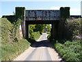 TM3356 : Bucks Head Railway Bridge by Adrian Cable