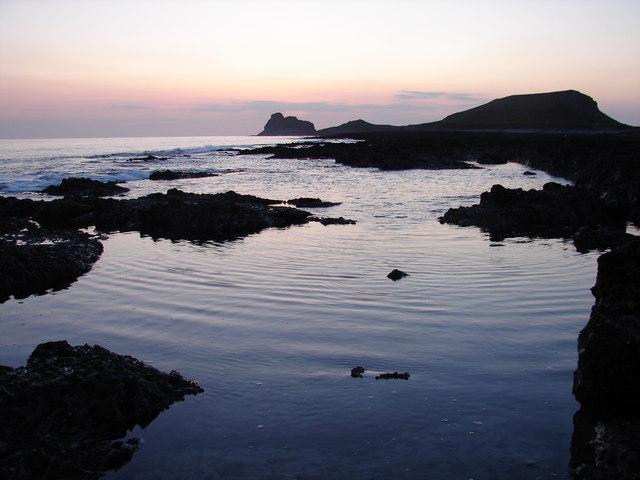Sundown at Worms Sound