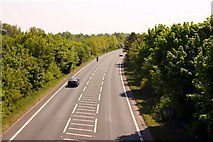 SU5894 : The Dorchester bypass looking towards Benson by Steve Daniels