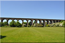 TL8928 : Chappel Viaduct by Ashley Dace